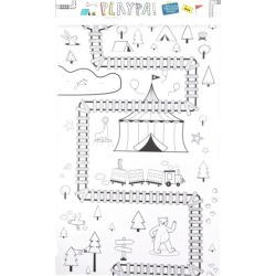 Playpa Forest Coloring Roll (White) by Olli Ella Kids Toys Maisonette found on Bargain Bro India from maisonette.com for $17.90