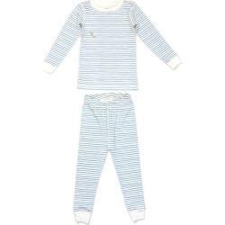 Dodo Banana Printed Pajama Set, (Blue Stripes, Size 12-18M) Maisonette found on Bargain Bro India from maisonette.com for $55.00