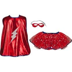 Great Pretenders Superhero Tutu Set (Red, Size 4-7) Maisonette found on Bargain Bro Philippines from maisonette.com for $28.00