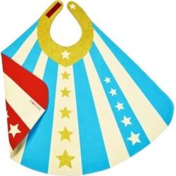 Reversible Superhero Cape, Blue by Lovelane Kids Toys Maisonette found on Bargain Bro from maisonette.com for USD $41.80
