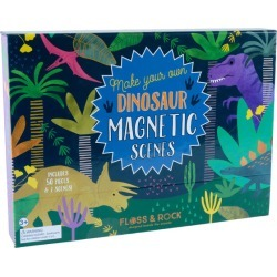 Dinosaur Magnetic Play Scene by Floss & Rock Kids Toys Maisonette found on Bargain Bro India from maisonette.com for $20.00