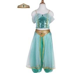 Jasmine Princess Set (Green, Size 3-4) by Great Pretenders Kids Toys Maisonette found on Bargain Bro from maisonette.com for USD $26.60