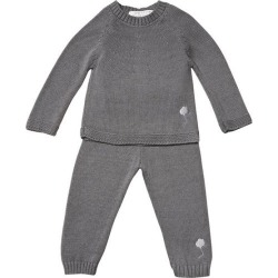 The House in the Clouds - The Neel Travel Suit in Cotton, Cumulus (Grey, Size 2Y) Maisonette found on Bargain Bro Philippines from maisonette.com for $253.00
