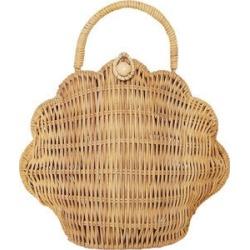 Olli Ella Shell Purse, Straw (Natural) Maisonette found on Bargain Bro from maisonette.com for USD $37.92