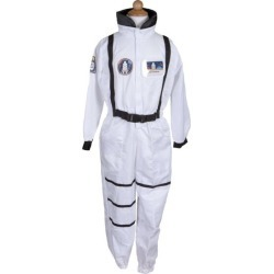 Astronaut Set w/ Jumpsuit, Hat & ID Badge (White, Size 5-6) by Great Pretenders Kids Toys Maisonette found on Bargain Bro from maisonette.com for USD $28.12