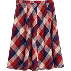 Bellerose - Ines Plaid Skirt, Red (Multicolor, Size 12Y) Maisonette found on MODAPINS from maisonette.com for USD $105.00