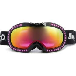 Bling2O Hot Pink Rhinestone Black Frame Ski Goggle Maisonette found on Bargain Bro from maisonette.com for USD $45.56