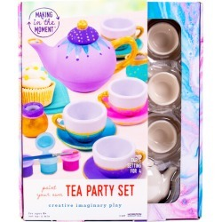 Paint Your Own Tea Party Set by Making in the Moment Kids Toys Maisonette found on Bargain Bro India from maisonette.com for $19.99