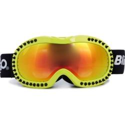 Bling2O Black Spike Lime Frame Ski Goggle (Green Green) Maisonette found on Bargain Bro from maisonette.com for USD $45.56
