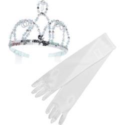 Great Pretenders Cinderella Tiara & Storybook Princess Gloves Maisonette found on Bargain Bro from maisonette.com for USD $13.68