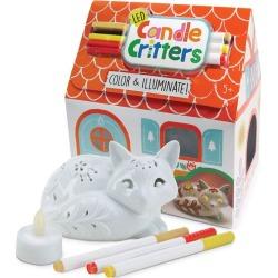 Kids Toys LED Candle Critters, Fox (White) Bright Stripes Maisonette found on Bargain Bro India from maisonette.com for $21.99