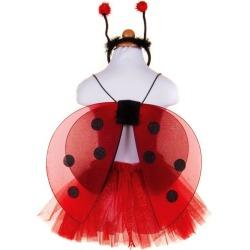 Glitter Ladybug Set (Red, Size 4-7) by Great Pretenders Kids Toys Maisonette found on Bargain Bro from maisonette.com for USD $16.72