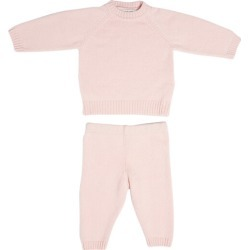 The House in the Clouds - The Neel Travel Set in Cashmere, Evening (Pink, Size 3Y) Maisonette found on Bargain Bro Philippines from maisonette.com for $210.00