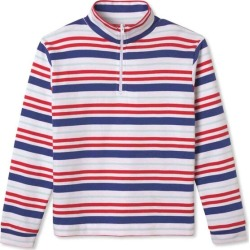 Classic Prep Harrison 1/4 Zip, Bittersweet Multistripe (Stripes, Size 10Y) Maisonette found on Bargain Bro Philippines from maisonette.com for $49.00