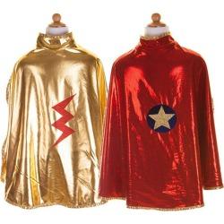 Great Pretenders Reversible Wonder Cape (Red, Size 5-6) Maisonette found on Bargain Bro from maisonette.com for USD $21.28