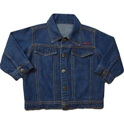 juju + stitch Baby Front Embroidery Denim Jacket, Medium (Blue, Size 6-12M) Maisonette found on Bargain Bro Philippines from maisonette.com for $86.00