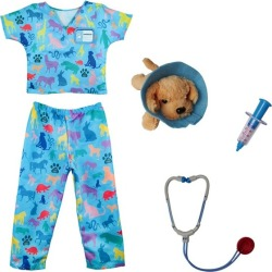 Veterinarian Set w/ Accessories, (Size 4-6Y) by Great Pretenders Kids Toys Maisonette found on Bargain Bro from maisonette.com for USD $28.12