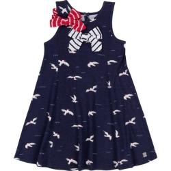 Deux par Seagulls Dress, (Navy Blue, Size 3Y) Maisonette found on Bargain Bro from maisonette.com for USD $32.98
