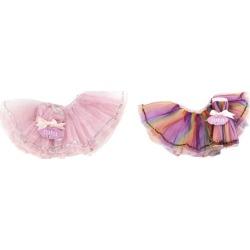 Jack Rabbit Creations Teeny Tiny Tutus, Set of 2 (Pink) Maisonette found on Bargain Bro Philippines from maisonette.com for $32.00