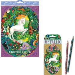 Kids Toys Unicorn Art Bundle eeBoo Maisonette found on Bargain Bro India from maisonette.com for $14.99