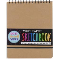 White DIY Cover Sketchbook by OOLY Kids Toys Maisonette found on Bargain Bro India from maisonette.com for $13.99