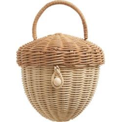 Olli Ella Acorn Rattan Bag, Natural Maisonette found on Bargain Bro from maisonette.com for USD $34.12