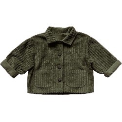 The Simple Folk Vintage Corduroy Utility Jacket, Olive (Green, Size 8-9Y) Maisonette found on Bargain Bro Philippines from maisonette.com for $95.00