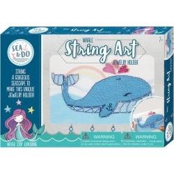 Kids Toys Whale String Art Bright Stripes Maisonette found on Bargain Bro India from maisonette.com for $32.99