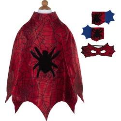 Great Pretenders Spider Cape Set (Red, Size 3-4) Maisonette found on Bargain Bro from maisonette.com for USD $20.52