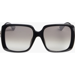 Gucci Injection Oversized Sunglasses in Black Grey found on MODAPINS from Olivela for USD $275.00