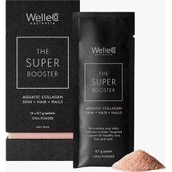 WelleCo Super Booster Aquatic Collagen Skin + Hair + Nails 14pk found on MODAPINS from Olivela for USD $92.00