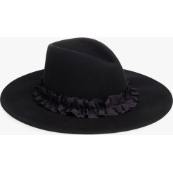 Eugenia Kim Harlowe Wool Fedora in Navy found on MODAPINS from Olivela for USD $255.00