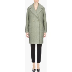 Women's Emporio Armani Cocoon Coat in Green Size 48