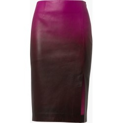 Women's Dorothee Schumacher Degrad� Pencil Skirt in Pink Degrade Size 4 | Leather found on MODAPINS from Olivela for USD $960.00