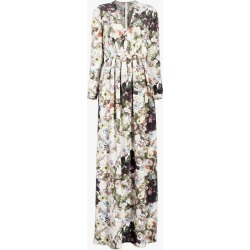 Adam Lippes Printed Silk Crepe Gown found on MODAPINS from Olivela for USD $2250.00