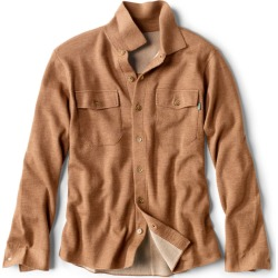 Doubleface Sweater Shirt-Jacket found on Bargain Bro from Orvis for USD $128.44