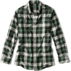 Tartan Wrinkle-Free Comfort Stretch Long-Sleeved Shirt found on Bargain Bro from Orvis for USD $74.48