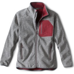 Windproof Sweater Fleece Jacket found on Bargain Bro from Orvis for USD $90.44