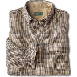 Spencer Houndstooth Pure Cotton Shirt found on Bargain Bro from Orvis for USD $67.64