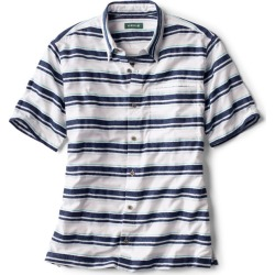 Horizontal Stripe Short-Sleeved Shirt found on Bargain Bro from Orvis for USD $60.04