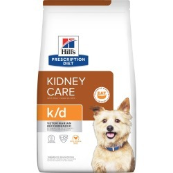 Hill's Prescription Diet k/d Kidney Care with Chicken Dry Dog Food, 27.5 lbs., Bag | Petco found on Bargain Bro from  for $35