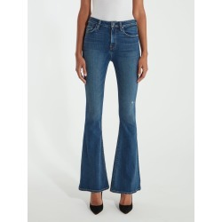 Holly High Rise Five Pocket Flare Jeans