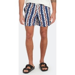 Navy Bizarro Stripe Swim Trunk - S - Also in: M, XS, XL, L found on Bargain Bro Philippines from Verishop Inc for $60.00