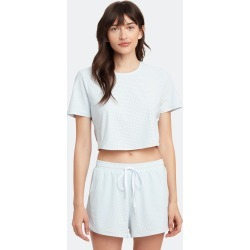 Track Cropped Tee - XXS - Also in: L, XS, XL found on Bargain Bro Philippines from Verishop Inc for $90.00
