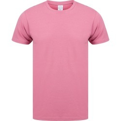 Skinni Fit Men Mens Feel Good Stretch Short Sleeve T-Shirt (Dusky Pink) - M - Also in: S, XL, 2XL found on Bargain Bro Philippines from Verishop Inc for $18.45