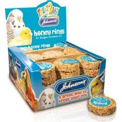 Johnsons Veterinary Honey Rings Bird Treats (May Vary) (0.88oz)