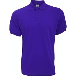 B & C Safran Mens Polo Shirt / Mens Short Sleeve Polo Shirts (Purple) - S - Also in: XXL, M, L, XL found on Bargain Bro Philippines from Verishop Inc for $20.45