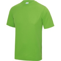 Just Cool Mens Performance Plain T-Shirt (Lime Green) - XL - Also in: 3XL, L, 2XL, XS, M, S found on Bargain Bro Philippines from Verishop Inc for $15.70