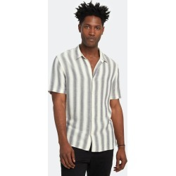 Shadow Stripe Short Sleeve Shirt - M - Also in: XS, XL, S, L found on Bargain Bro Philippines from Verishop Inc for $174.00