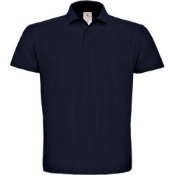 B & C Id.001 Unisex Adults Short Sleeve Polo Shirt (Navy Blue) - S - Also in: XL, 3XL, XS, M, L, 2XL found on Bargain Bro Philippines from Verishop Inc for $17.20